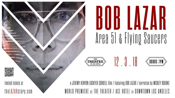 Bob Lazar : Area 51 & Flying Saucers en VOST sur Google Play