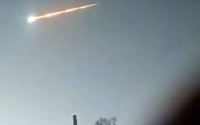 Large meteor explodes in sky over Siberia in third major space fireball incursion in four months