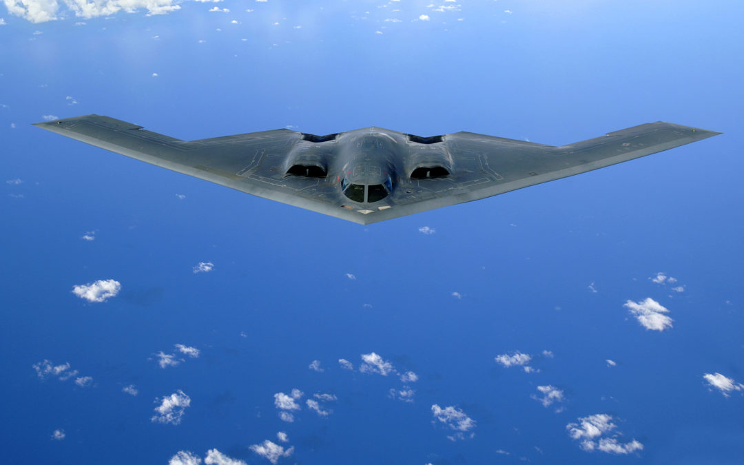 30 years of Spirit : US Air Force celebrates the B-2 stealth bomber