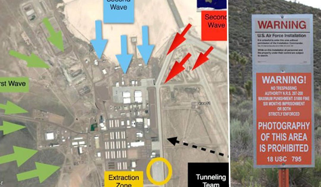 Area 51 raid event 'to see them aliens' removed by Facebook