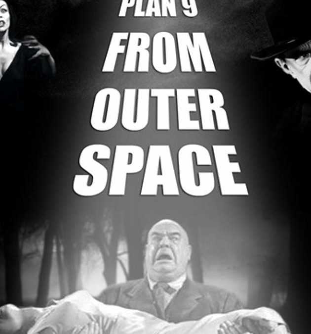 """Plan 9 from Outer Space"" de Ed Wood"